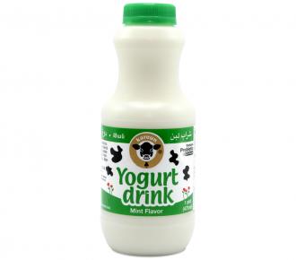 YOGURT DRINK MINT  1pt Bottle