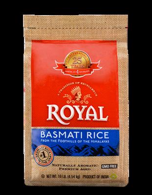 ROYAL INDIAN BASMATI RICE 10LB