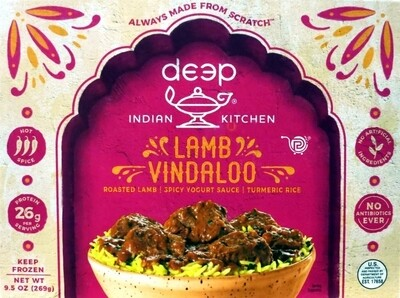 DEEP LAMB VINDALOO W RICE