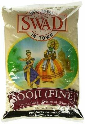 SWAD SOOJI (FINE) 4LBS