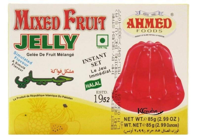 AHMED MIXED FRUIT JELLO