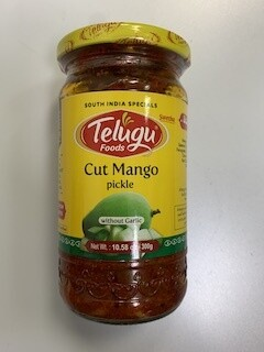 TELUGU CUT MANGO PICKLE  NO GARLIC