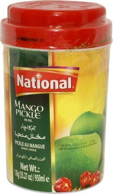 NATIONAL MANGO PICL 500GM