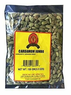 LAXMI GREEN CARDAMOM (JUMBO) 100 GM