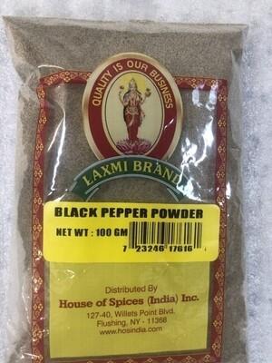 Lx BLACK PEPPER POWDER 100 GM