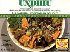 DEEP UNDHIYO frozen curry