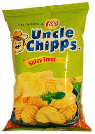 UNCLE CHIPPS SPICY TREAT 55