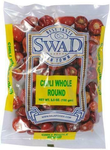 SWAD ROUND CHILLI WHOLE 100gm