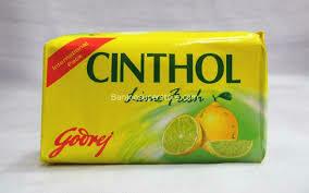 CINTHOL SOAP LIME FRESH 100GM