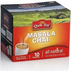 Quik Tea Masala Chai 8.5 oz