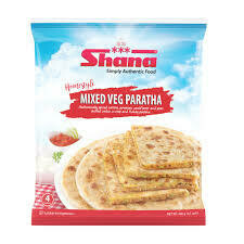 SHANA PARATHA MIXED VEG 400gm