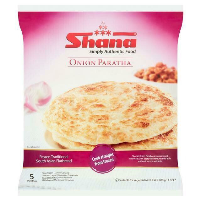 SHANA ONION PARATHA 400 GM