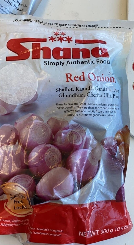 SHANA RED ONION FROZEN 300gm