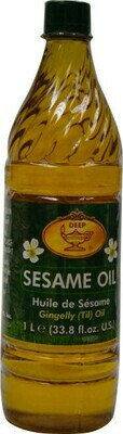 DEEP SESAME OIL 33.8oz