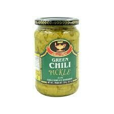 DEEP GREEN CHILLI PICKLE 24.7OZ