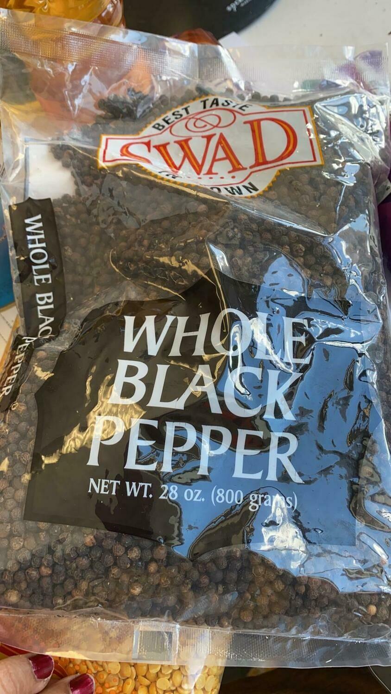 SWAD BLACK PEPPER 800gm