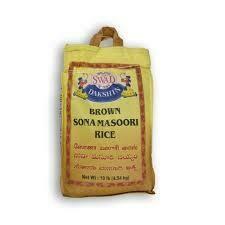SWAD BROWN SONA MASOORI 10LB