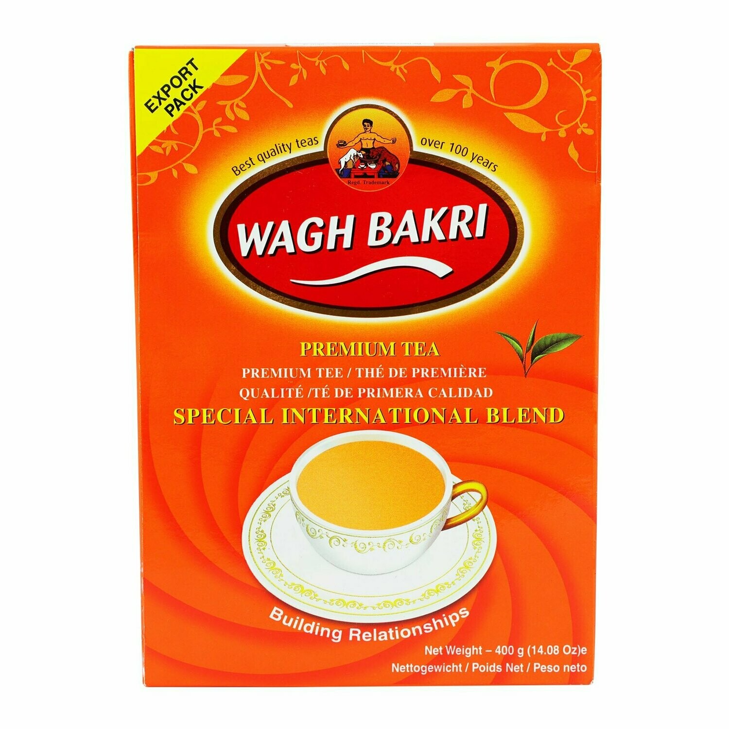 TEA WAGH BAKRI BOX 400gm