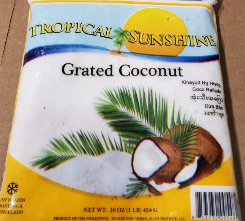 TROPICAL GRATED COCONUT 1lb