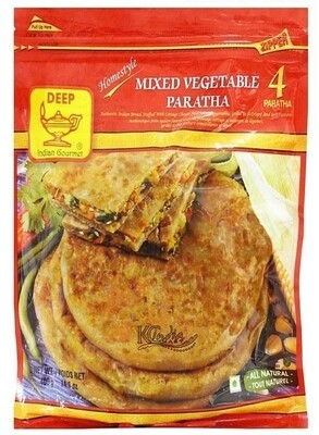 DEEP MIX VEG PARANTHA 4PC