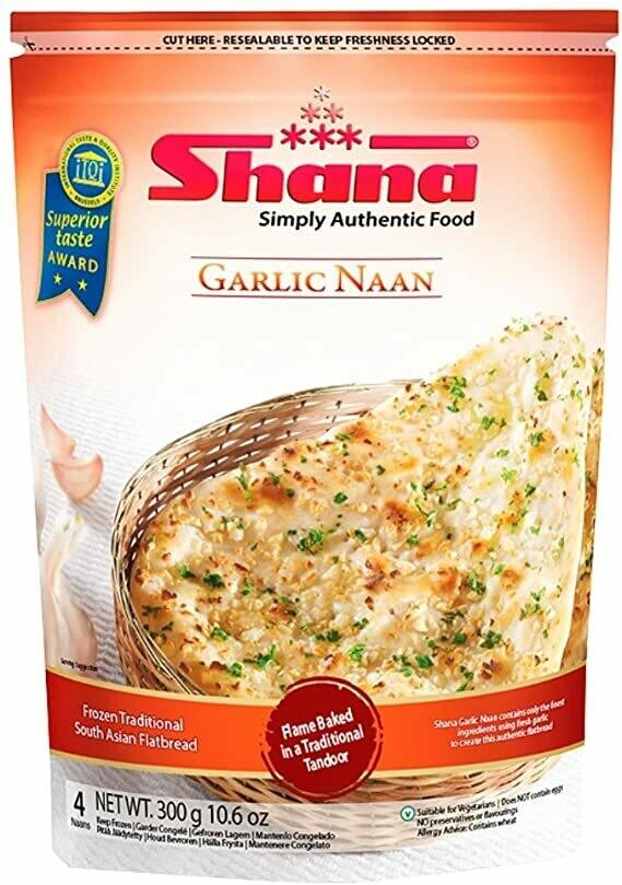 SHANA GARLIC NAAN (4 PCS)