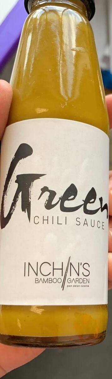 INCHIN GREEN CHILLI SAUCE 200gm
