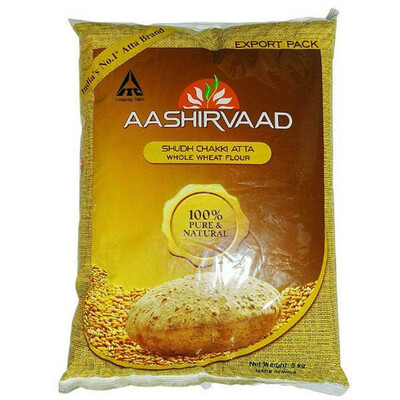 AASHIRVAAD CHAKKI ATTA 20LB