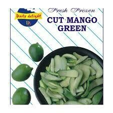 DAILY DELIGHT CUT MANGO GREEN 400gm