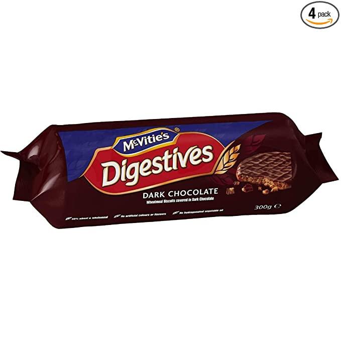 MCVITIES DIGESTIVES MILK CHOCOLATE 300gm