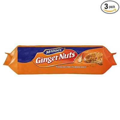 McVi GINGER NUTS 400GM