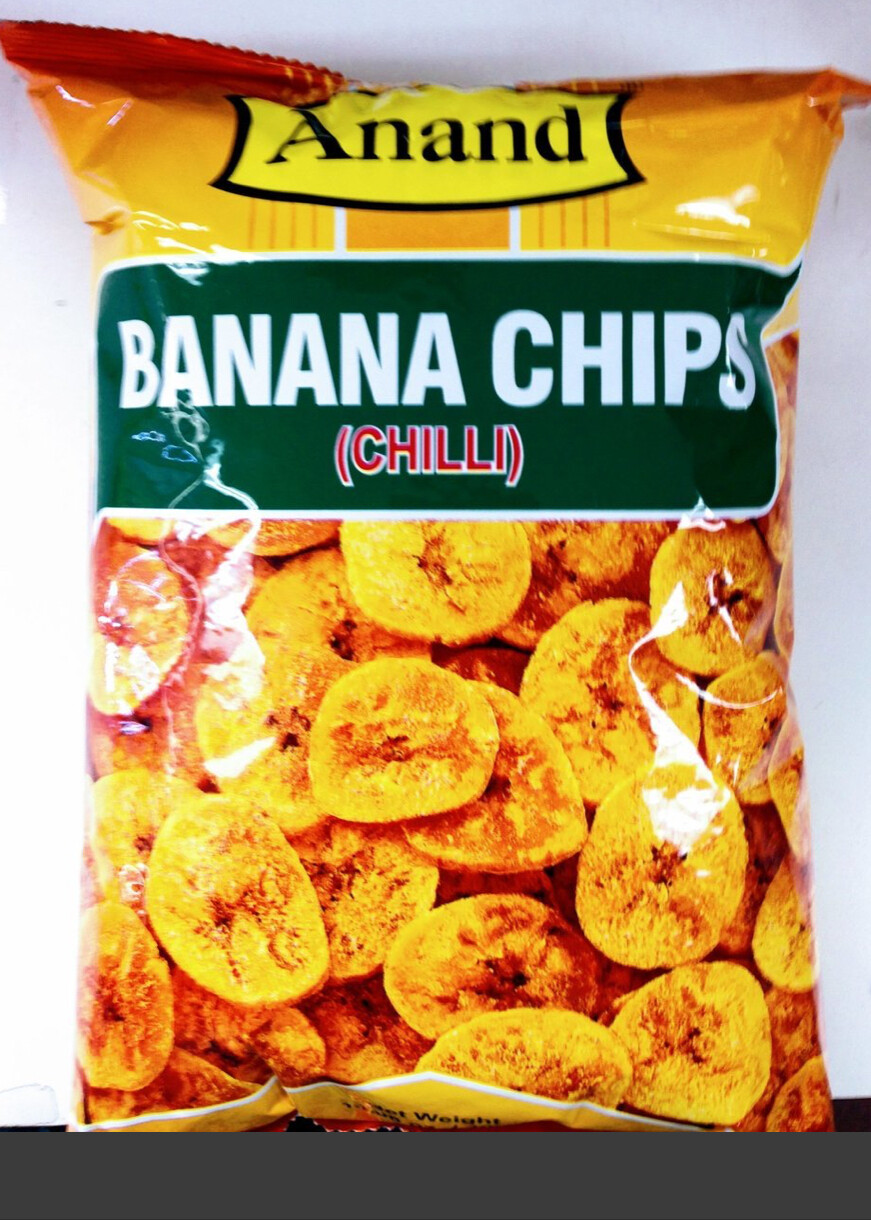ANAND BANANA CHIPS CHILLI 400GM