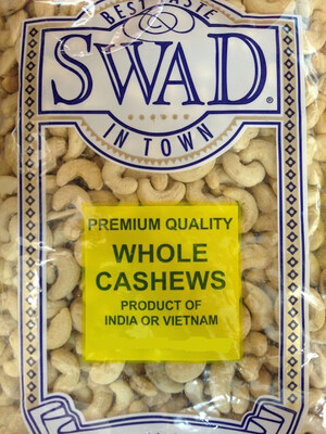 SWAD WHOLE CASHEWS 200gm