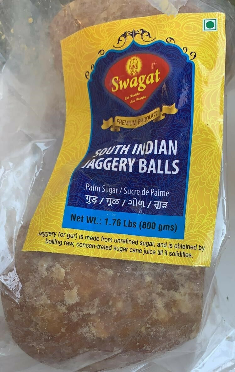 SWAGAT SOUTH INDIAN JAGGERY BALL YELLOW 800