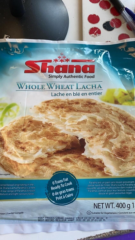 SHANA PARATHA LACHA WHOLEWHEAT 5pcs