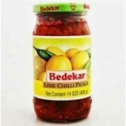 BEDEKAR LIME CHILLI PICKLE 400g