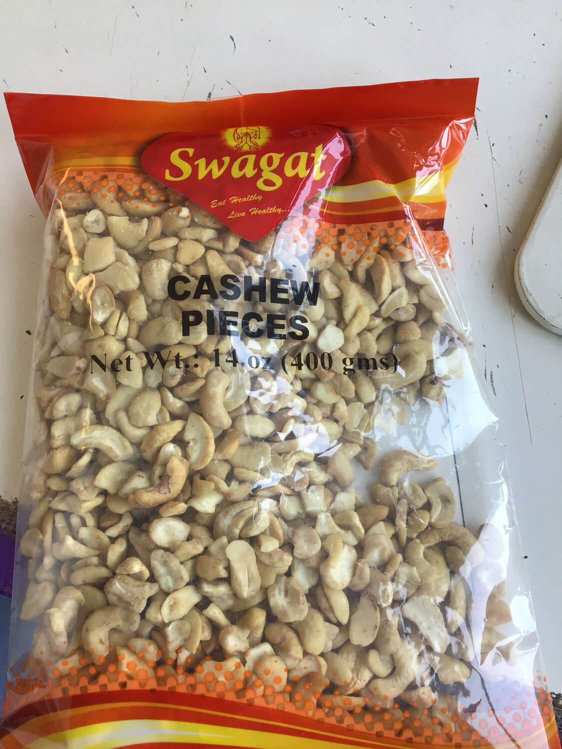 SWAGAT CASHEW PIECES 400 GM