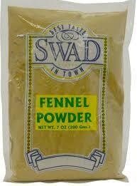 SWAD FENNEL POWDER  7 OZ