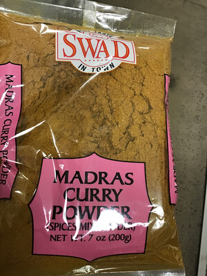SWAD MADRAS CURRY PWDR 200GM