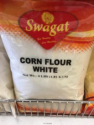 SWAGAT CORN FLOUR WHITE 4LB