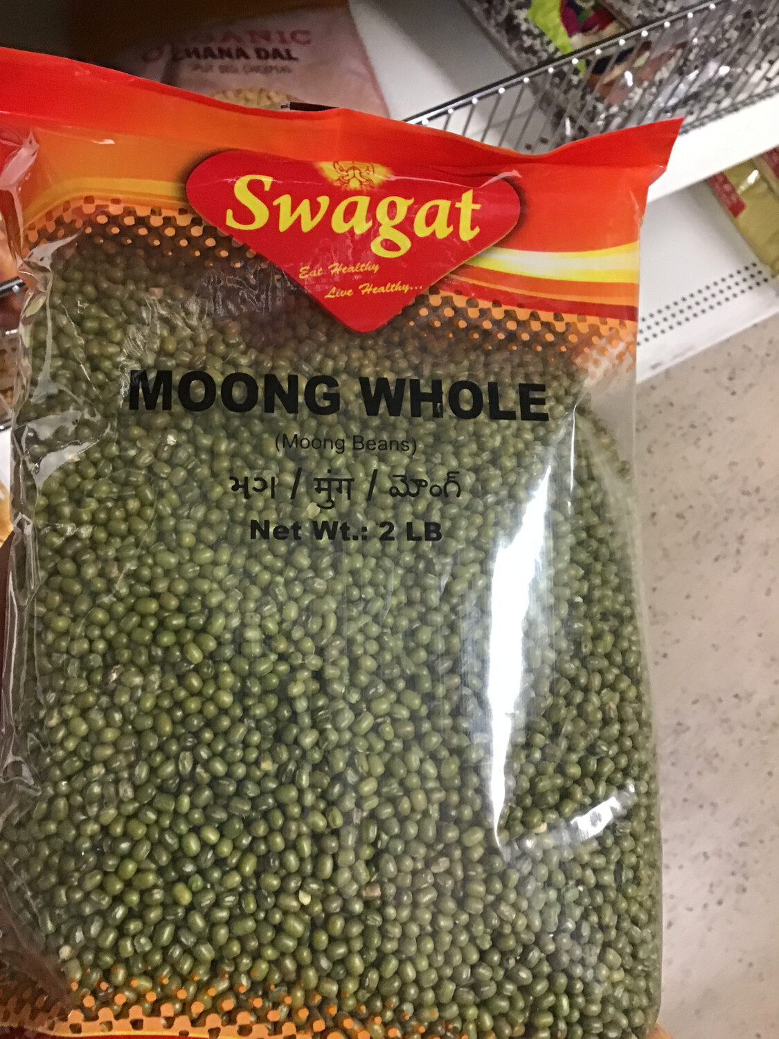 SWAGAT MOONG WHOLE  2 LB