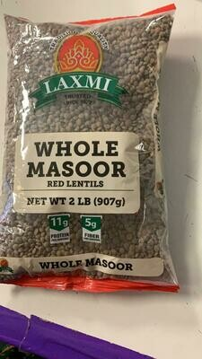 LAXMI WHOLE MASOOR 2lb