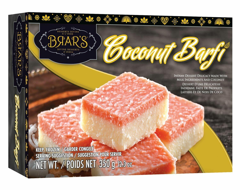 BRAR'S COCONUT BARFI 350GM
