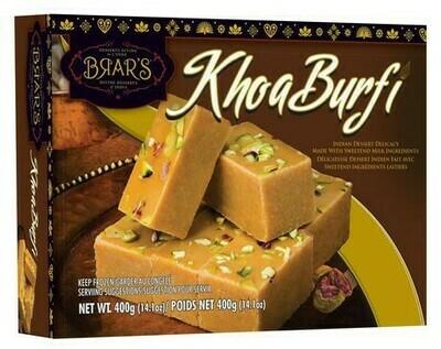 BRAR'S KHOA BARFI 350GM
