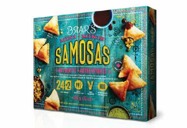 BRAR'S SAMOSA (POTATO & PEAS) 624G