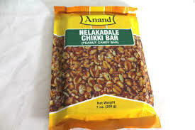 Anand Nelakadle (Peanut) Chikki Bar -200 g