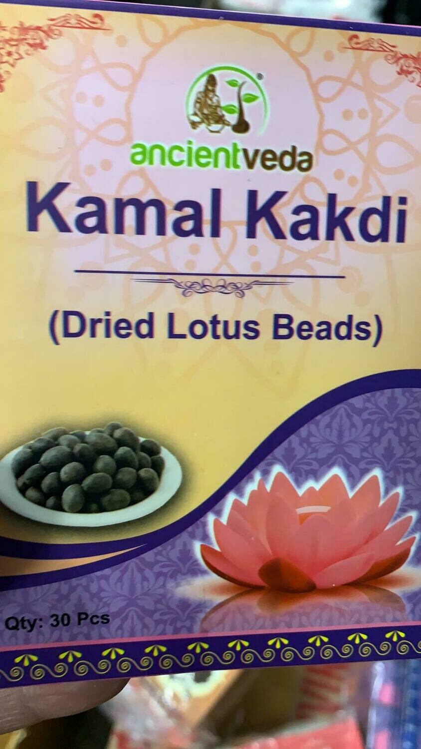 ANCIENT VEDA KAMAL KAKDI 30pcs