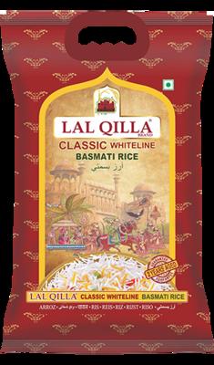 LAL QILLA WHITELINE CLASSIC BASMATI RICE 10lb