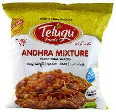 TELUGU SNACKS (ANDHRA MIXTURE) 170G