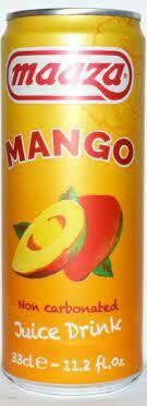 MAAZA SLEEK CANS MANGO  330 ML