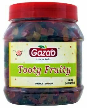 GAZAB TOOTY FRUITY 200GM
